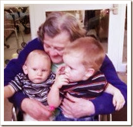 mama with wyatt and will