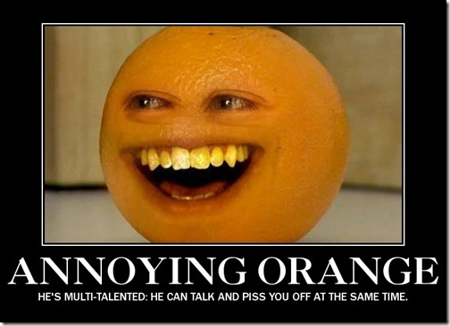 Multi-Talented Annoying Orange