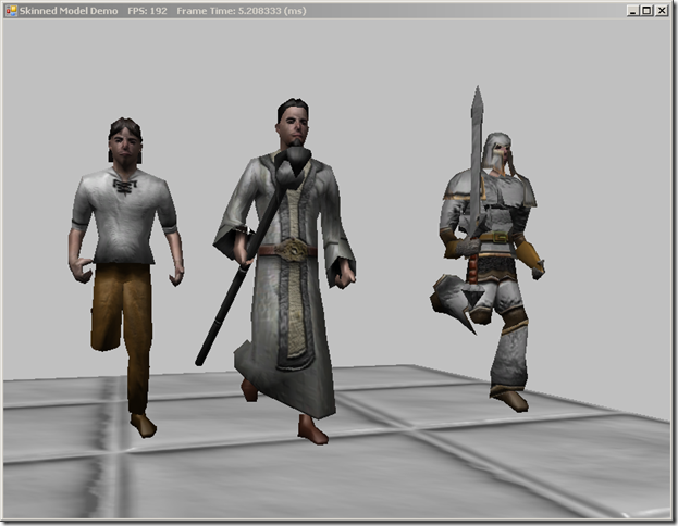 Skinned Models in DirectX 11 with SlimDX and Assimp.Net