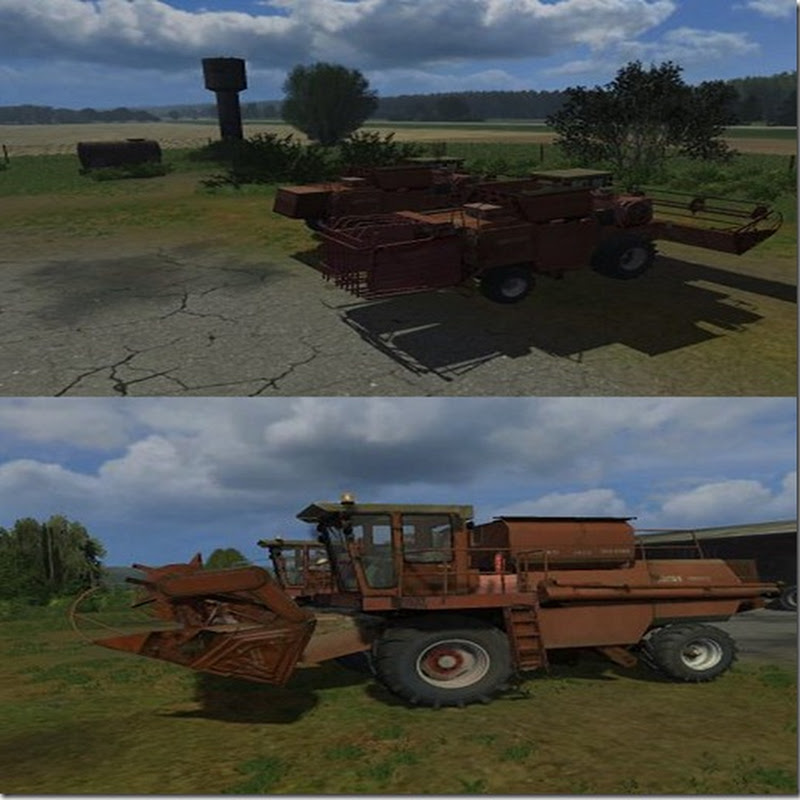 Farming simulator 2011 - DON 1500 A Pack