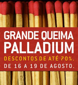 Grande Queima shopping palladium agosto 2012