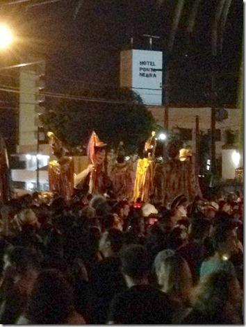 Ponta negra desfile