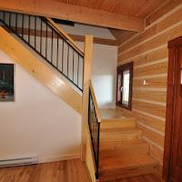 Cedar stairs