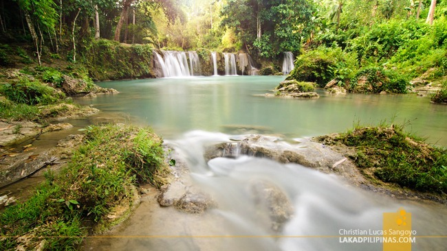 The Enchanting Cambugahay Falls at Lazi, Siquijor