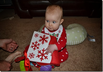 christmas and 7 months 025