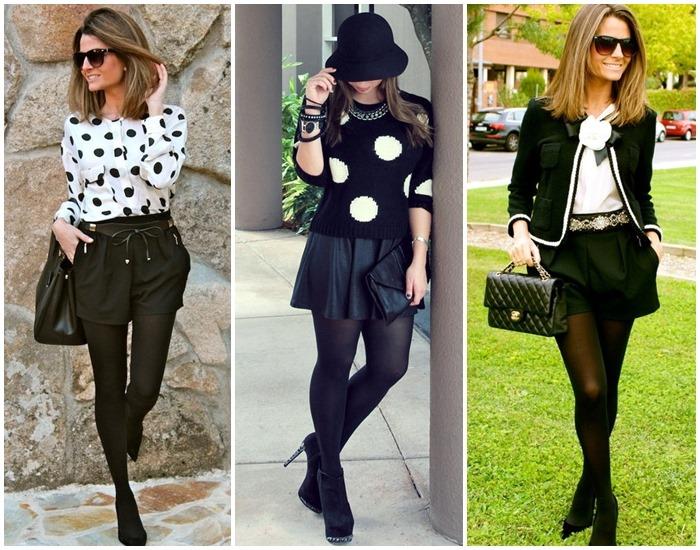 moda preto e branco looks - como usar 03