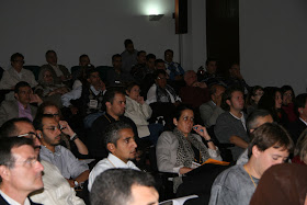 """Congreso Internacional: """"EL ISLAM CERCANO: 1.300 años del nacimiento de al-Andalus"""". Aula Magna del edificio La Nau de la Universitat de Valencia."""