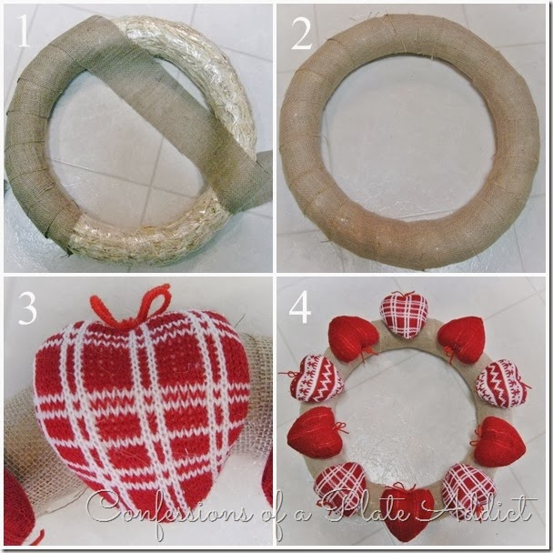 CONFESSIONS OF A PLATE ADDICT Rustic Valentine Wreath Tutorial