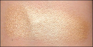 Maybelline Barely Beige Swatch