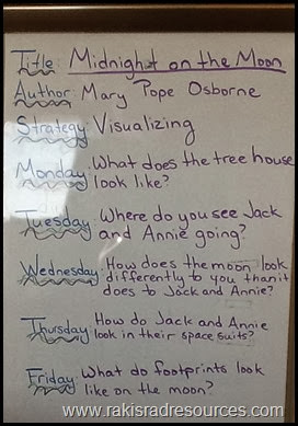 Use guided questions during read aloud.