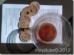 Sisters Wine and Brew Festival tokens
