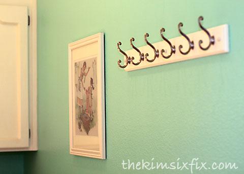 Ideal Laundry room hooks