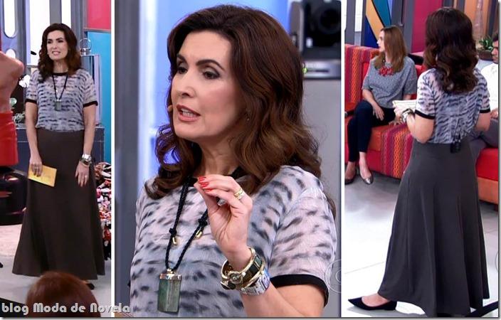 moda do programa encontro - fátima bernardes no dia 23 de setembro de 2013
