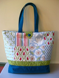 Tote bag tutorial DownUnder