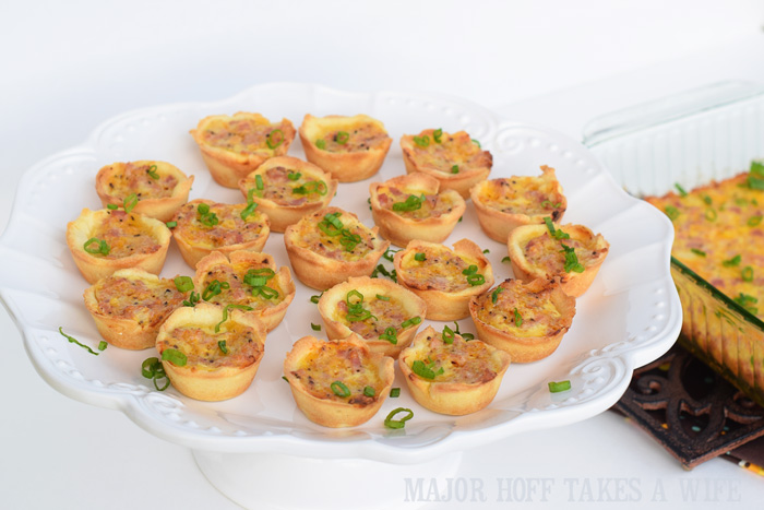 Pampered Chef Mini Ham Puffs adapted to be gluten free