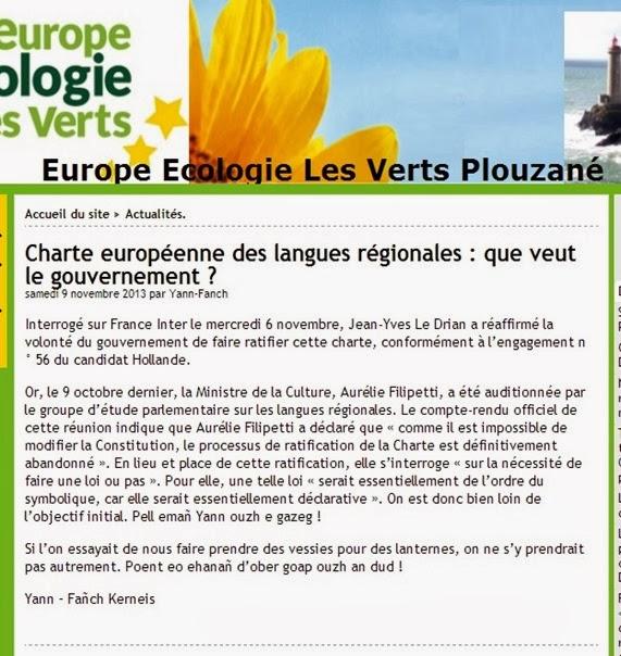 Confirmacion los socialistas faràn res de legal per las lengas de l'estat francés