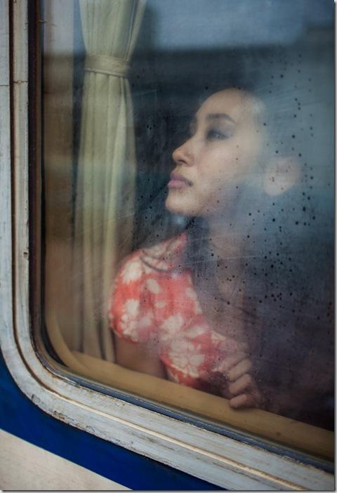 At the Hanoi Train Station in Vietnam. ©Aaron Joel Santos