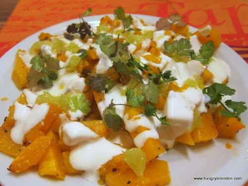  Ute cooks: ROASTED PUMPKIN WITH CARDAMON AND LIME 