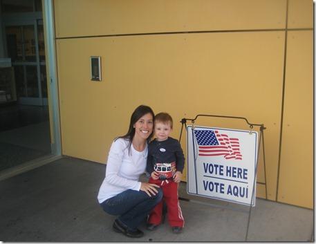 10 25 12 - Voting for President Obama (1)