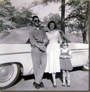 Dad, Mom and Karen age 6-8