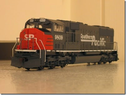 IMG_0724 Athearn Genesis SD70M Southern Pacific #9809