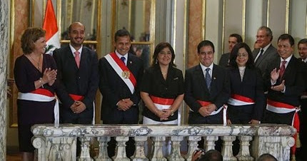 5 nuevos ministros del per juramentaron este 17 febrero for Ministros del peru