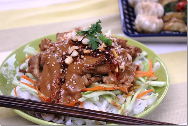 The oriental salad