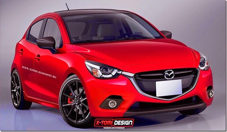 2014 Mazda2 MPS Hot Hatch Rendered