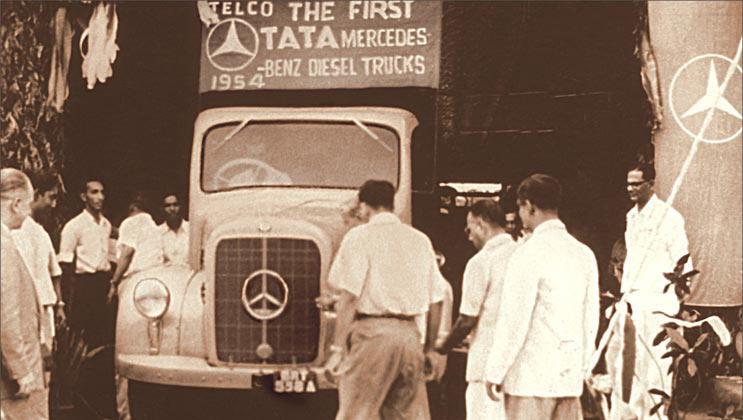 TATA Motors : 1954 (TATA MERCEDES - BENZ DIESEL Truck) till 2008 (Nano)