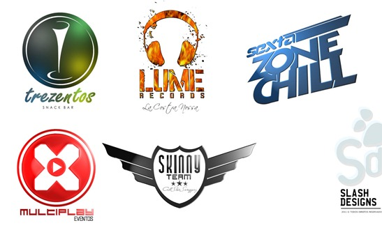 SLASH DESIGNS logos