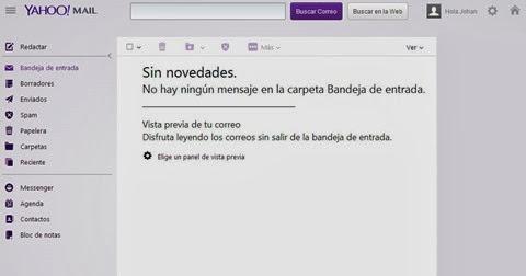 Bandeja de entrada de Yahoo