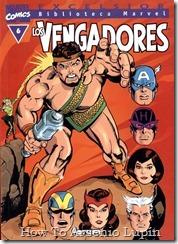 P00006 - Biblioteca Marvel - Avengers #6