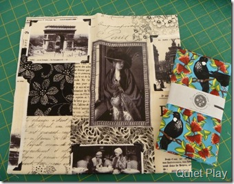 Texty print and the tui bird
