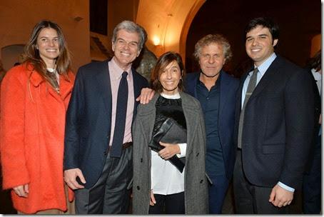 Carolina Castiglioni;Gianni Castiglioni;Consuelo Castiglioni;Renzo Rosso;Giovanni Castiglioni