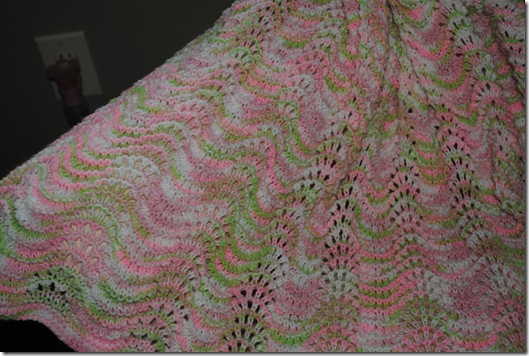 Knitted Blanket 002