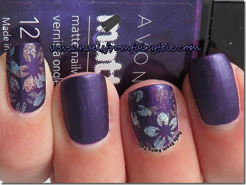 flowers holographic stamping 2