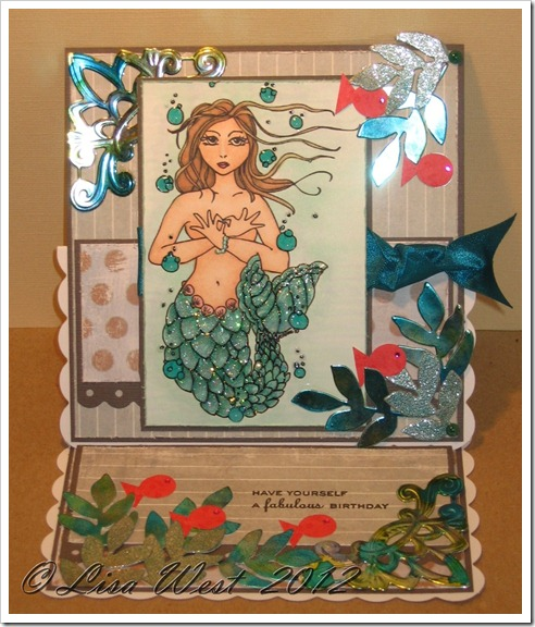 Mermaid Birthday Card (9)