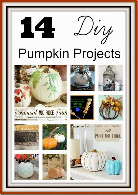 14 Pumpkin DIY Projects from Setting for Four