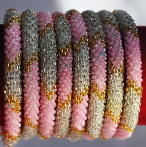 Rollover Bracelets Pink Series