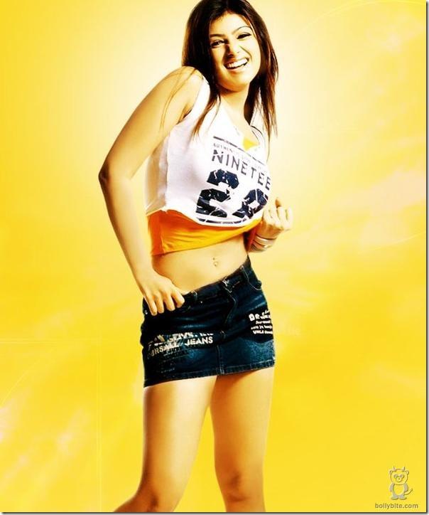 Ayesha Takia Short Jeans
