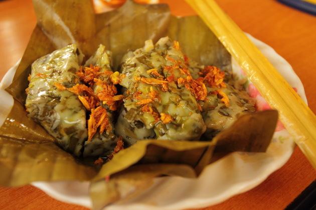 Hin Tou - Popular Shan Snack in Nwang Shwe, Burma