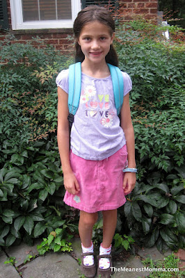 First Day of School (2012 Edition)