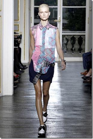 Balenciaga lace spring 2012