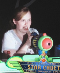 Disney trip Katie buzz lightyear ride