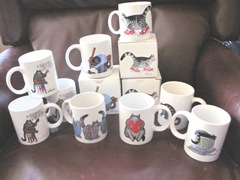 kliban cat mugs2