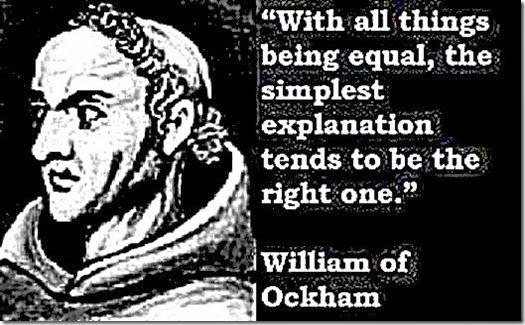 William of Ockham and his Quote