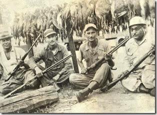 Francisco Gómez Estrella, Archibardo Pérez, Mon Robiou  y Chago Infante