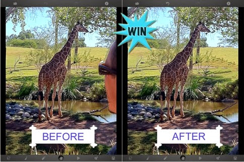 TouchRetouch, aplicación para eliminar objetos de tus fotos