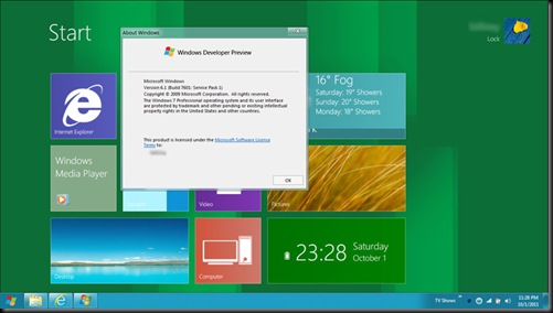 Windows 7 Metro UI