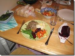my xmas dinner